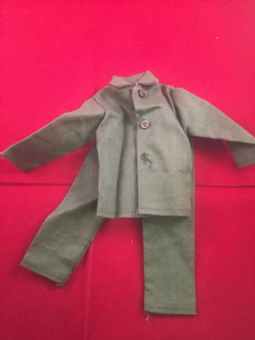 VINTAGE ACTION MAN - SOLDIER FATIGUES - 1970's Unknown Maker